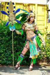 Mia from Civilization Online cosplay by NineetNora