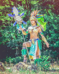 Mia cosplay from civilization online  by NineetNora