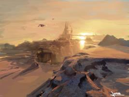 City of desert by vofff