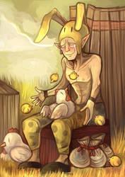 Bunny Hood by Lunaros