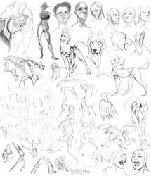 Sketchdump.14 by Remarin