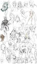 Sketchdump.15 by Remarin