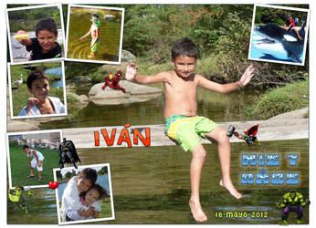 Ivan's 7th birthday by Veroka