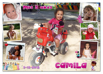 Cami's 3rd birthday by Veroka