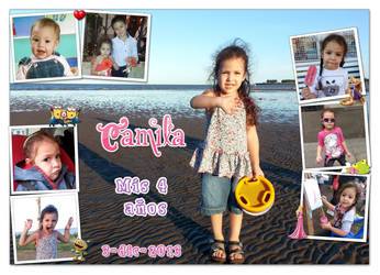Cami's 4th birthday by Veroka