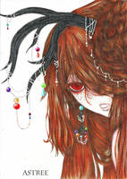 Alisha, the Pearls Dancer by Astreos0