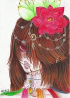 Alisha, the Lotuses Dancer (2) by Astreos0