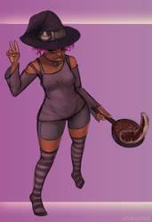 Stream stuff : Kitchen Witch background by emikochan13