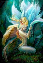 Flower Fairy by BukanovaSvetlana