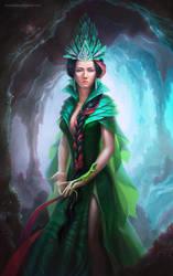 Mistress of the Copper Mountain by BukanovaSvetlana