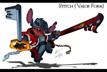 Stitch Cosplay Valor Form by GunZcon