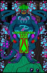 Alien Clown Creature by VonMalcolm