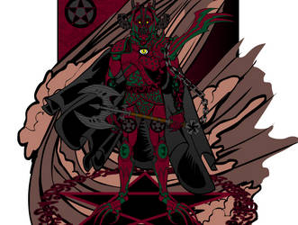 Pentacle Knight by VonMalcolm