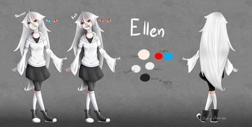 OC ref sheet : Ellen by TheKillerDemon