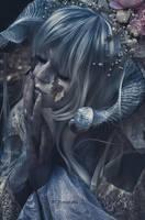 Demon of the Blue by JennyJinya