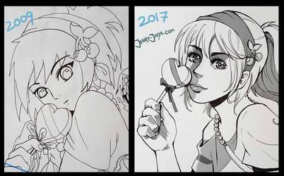 Draw this again 2017 by JennyJinya