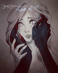 Trust his hands -doodle- by JennyJinya