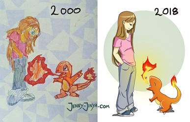 Draw this again Challenge by JennyJinya