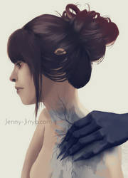 Final touch by JennyJinya
