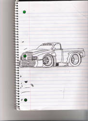 pretty neat dodge truck by Quepthys