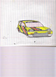 1984 Honda Civic DX race tune by Quepthys