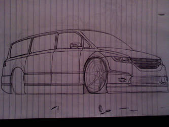 unfinished honda odyssey by Quepthys