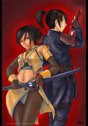 Assassin Couple by MeganeRid