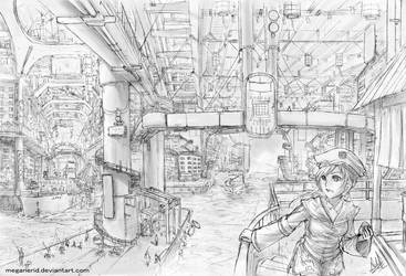 Underground City by MeganeRid