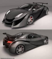 XR-Z Concept Car 1 by MeganeRid