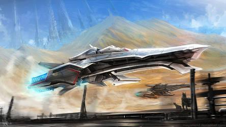Desert Race by MeganeRid