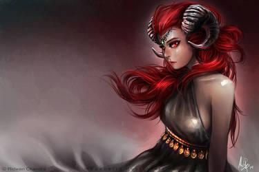 Lady of Aries by MeganeRid