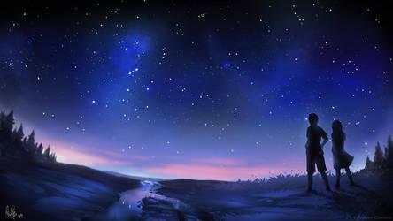 Stargazing by MeganeRid