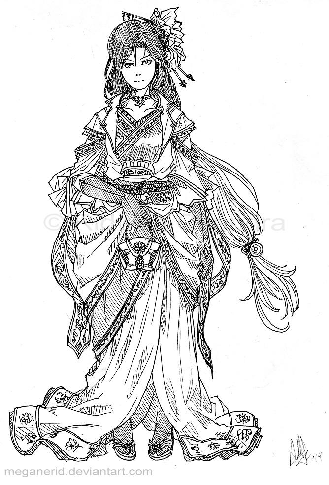 Royal Lady by MeganeRid