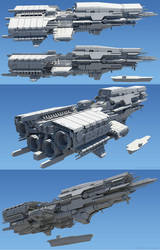 Spirit of Java 3D Model 02 by MeganeRid