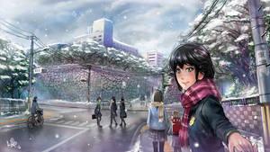 Season of Snow by MeganeRid