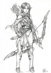 Commission - Sylvanas by MeganeRid