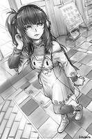 Headphone Girl by MeganeRid