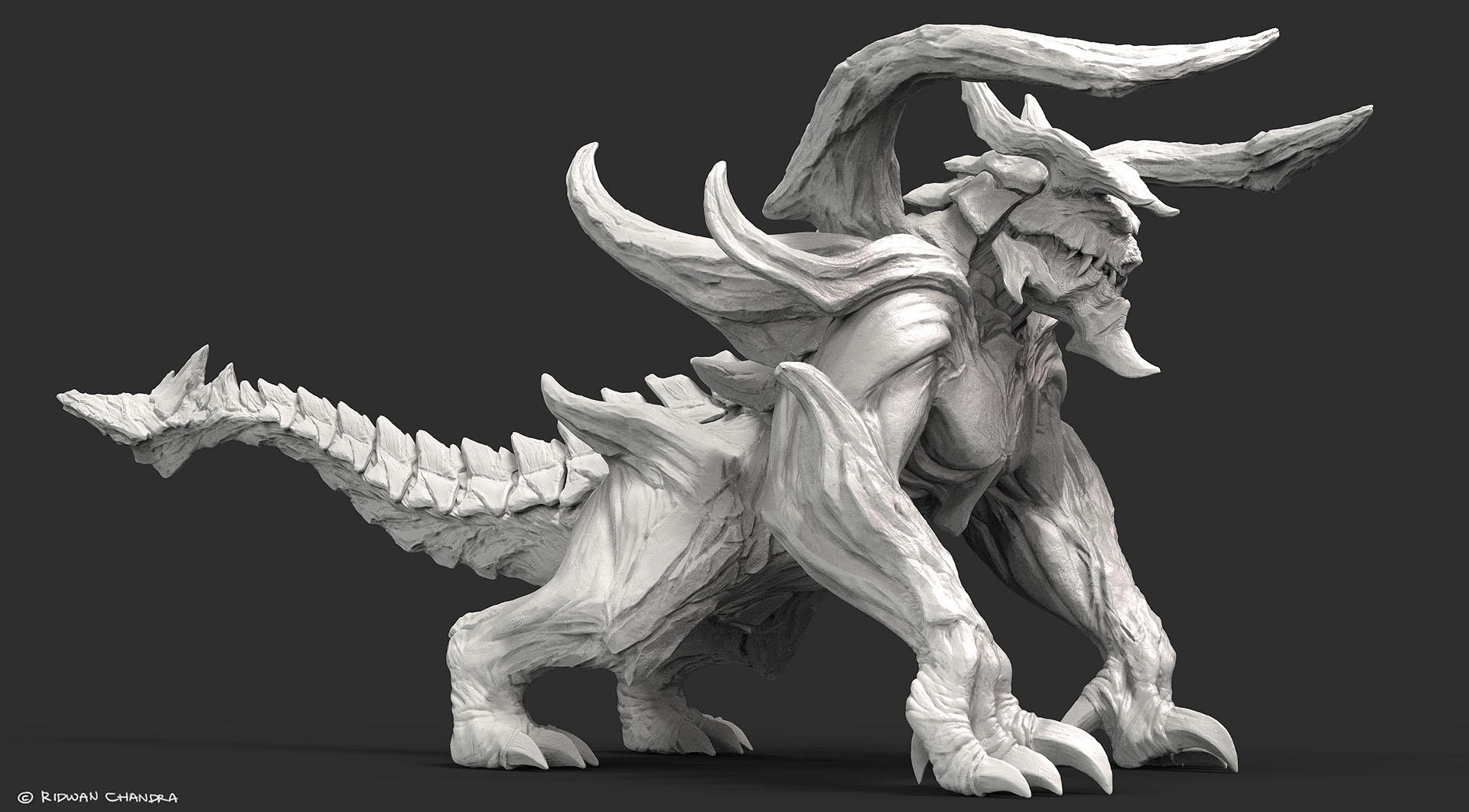 Creature Render by MeganeRid