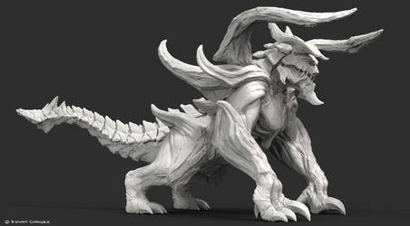 Creature Render by MeganeRid