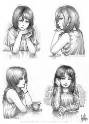 Girls Set 2 by MeganeRid