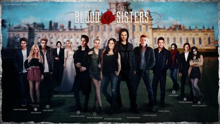 Vampire Academy: Blood Sisters - Panorama Poster by Nikola94