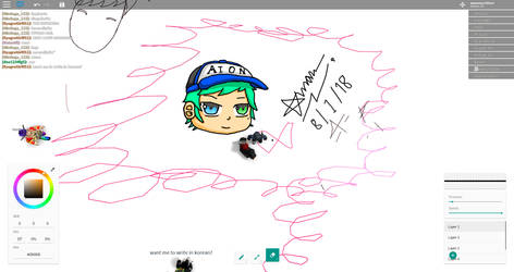 (OC) Ron In Roblox (Free Draw 2 Alpha) by zazaarnon145xer