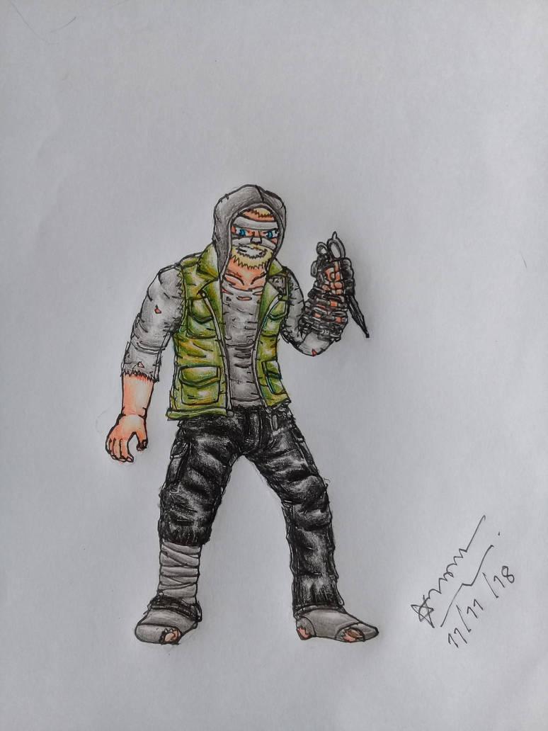 (Last Year : The Nightmare) The Strangler by zazaarnon145xer