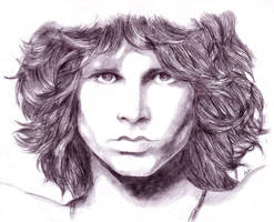 Jim Morrison by Avia-Eyal