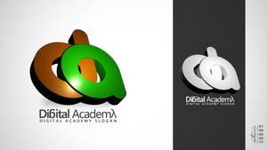 Digital Academy Logo Concept 5 by hemalaya