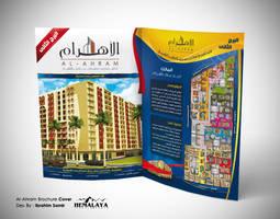 Al-Ahram Brochure Cover by hemalaya