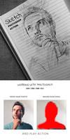 Sketch Photoshop Action by hemalaya