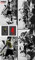 Power Art Photoshop Action by hemalaya