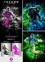 Techno 2 Photoshop Action by hemalaya