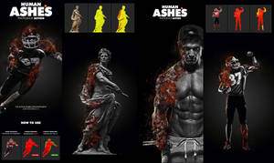 Human Ashes Photoshop Action by hemalaya